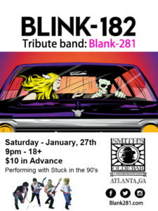 Blink 182 Tribute Band: Blank281