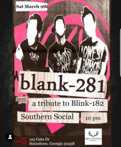 Blink182 tribute: blank281