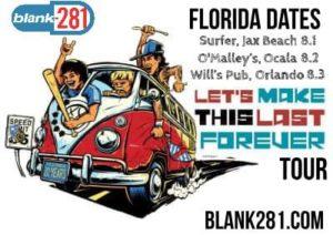 Blink 182 Florida