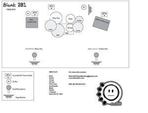 Blink182 stage plot
